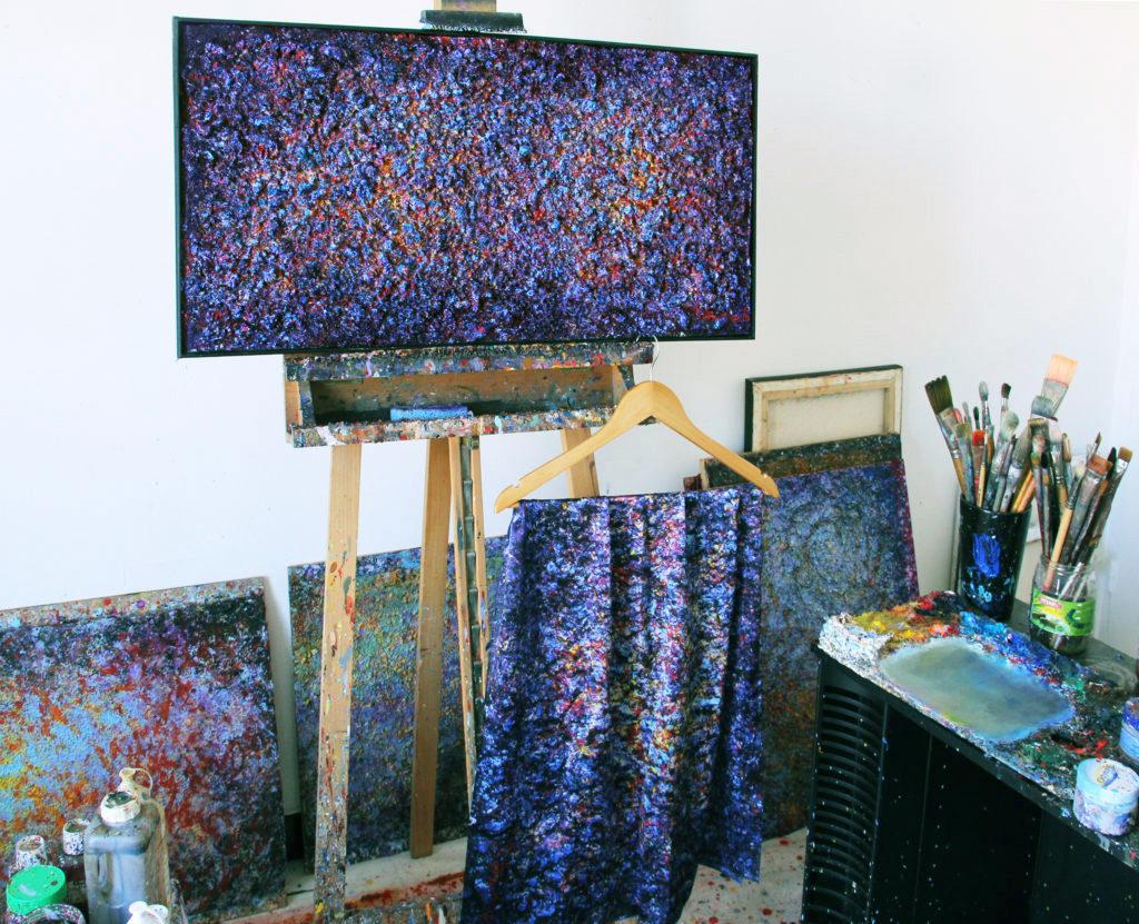 Art on Scarf - Ararat Petrossian's Studio
