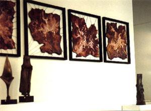 Art on Scarf - Lyon Exhibition with Anselmo Francesconi