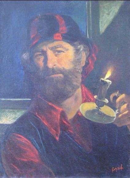 Art on Scarf - The Artist's journey. Belerfon Dalakyan