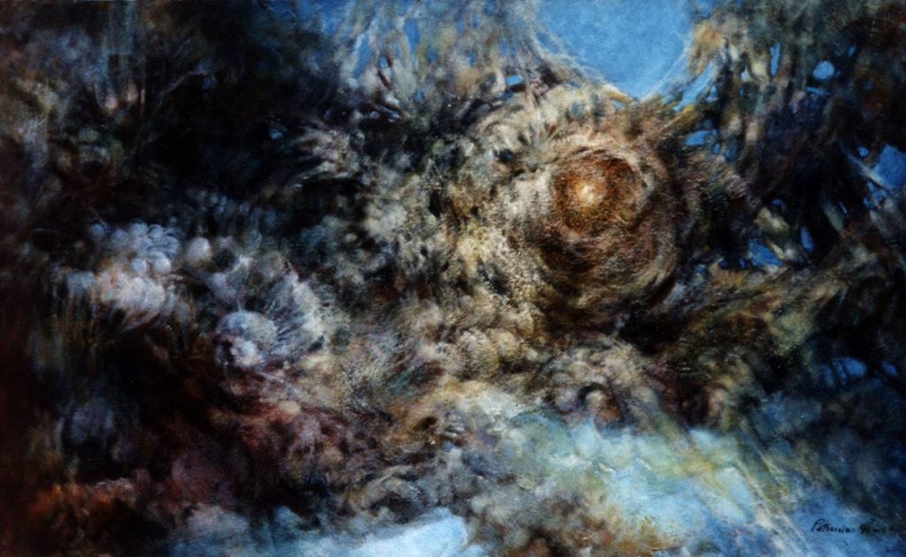 Ararat Petrossian - Painting in Louvre