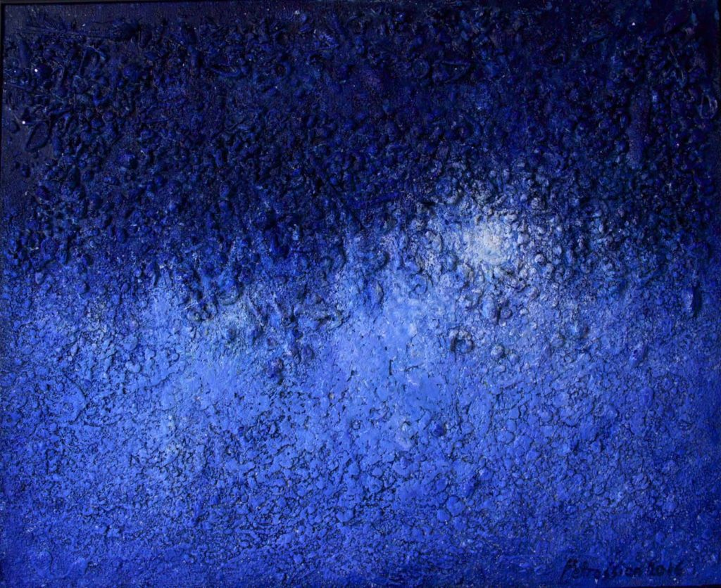 """Vibrations of Ultramarine"" by Ararat Petrossian"