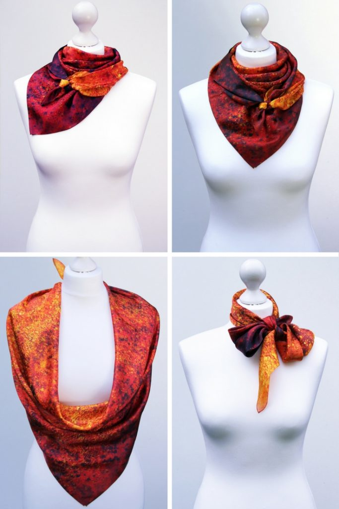 Aithne - How to Choose the Size of a Square Silk Scarf4