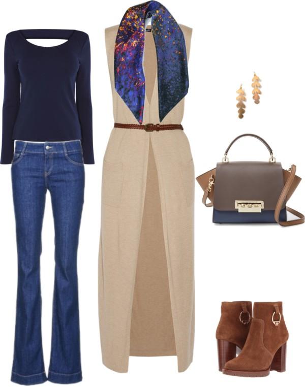 Elegant Casual Autumn Outfit Idea