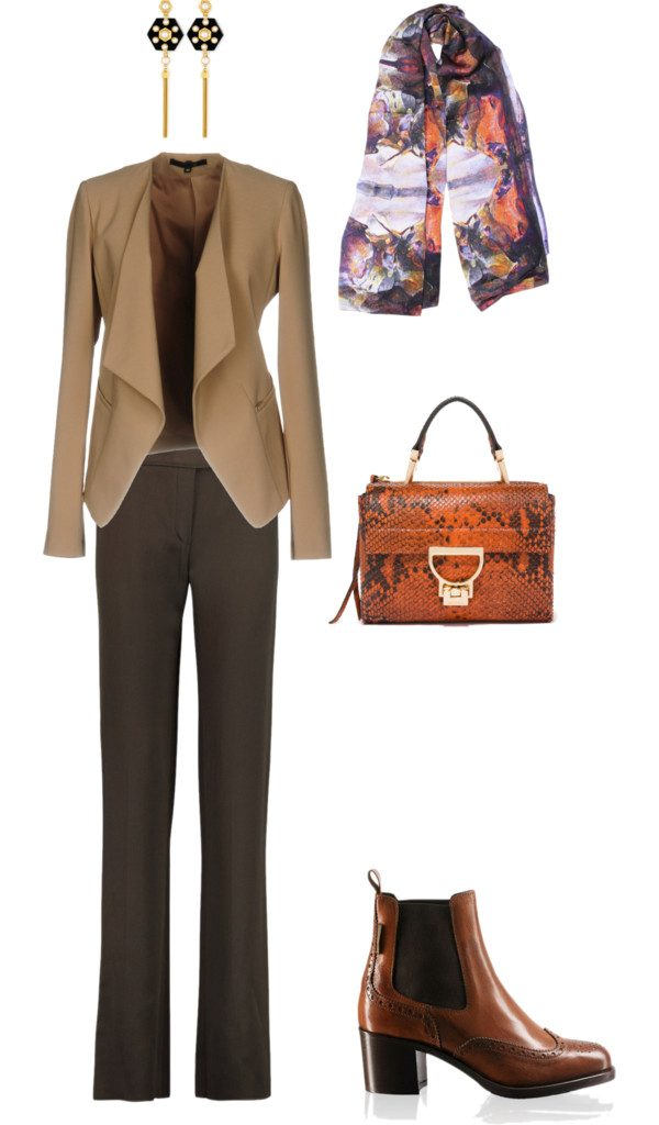 Aithne - Autumn Business Casual Outfit Idea - Behind the Mask