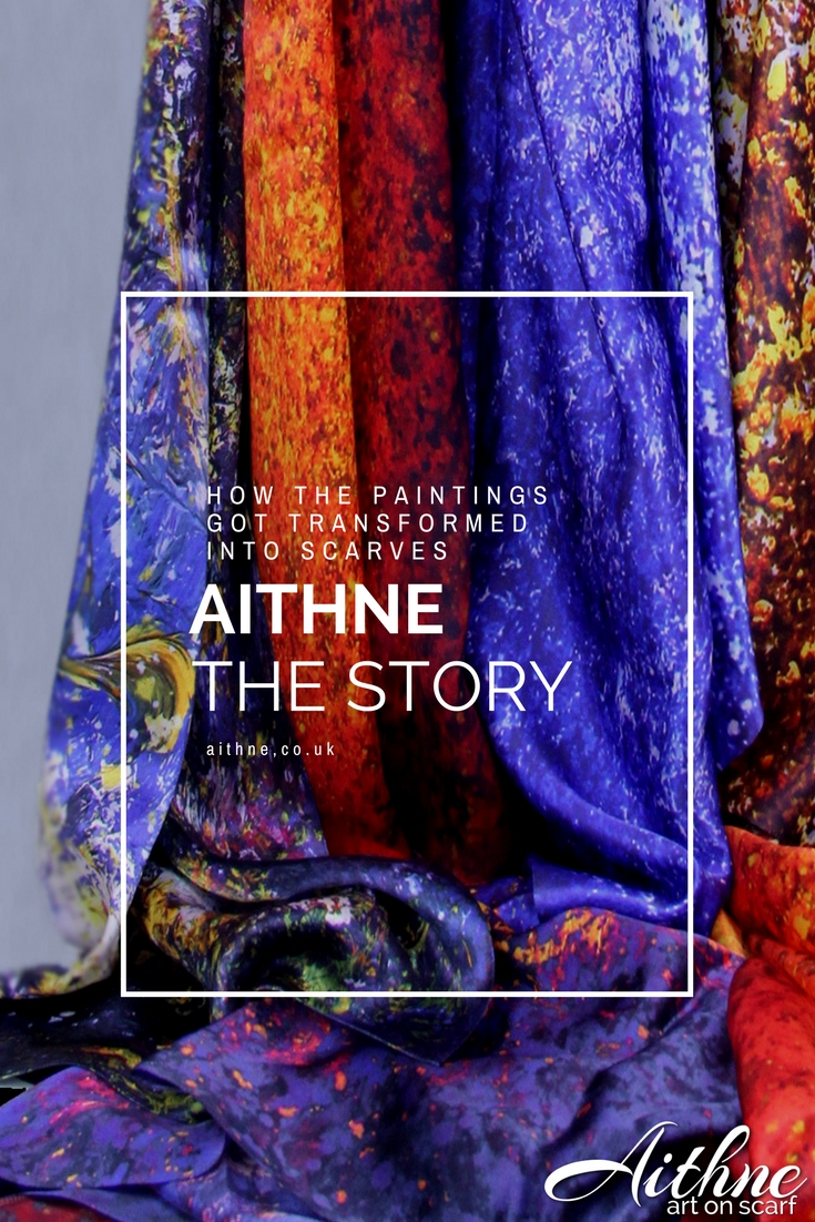 Aithne - Art on Scarf - Our Story