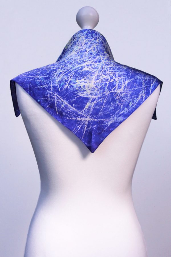 Aithne - Square Silk Scarf - The Chaotic Movement5