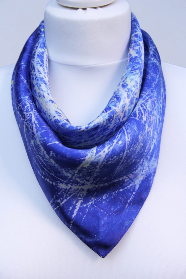 Aithne - Square Silk Scarf - The Chaotic Movement6