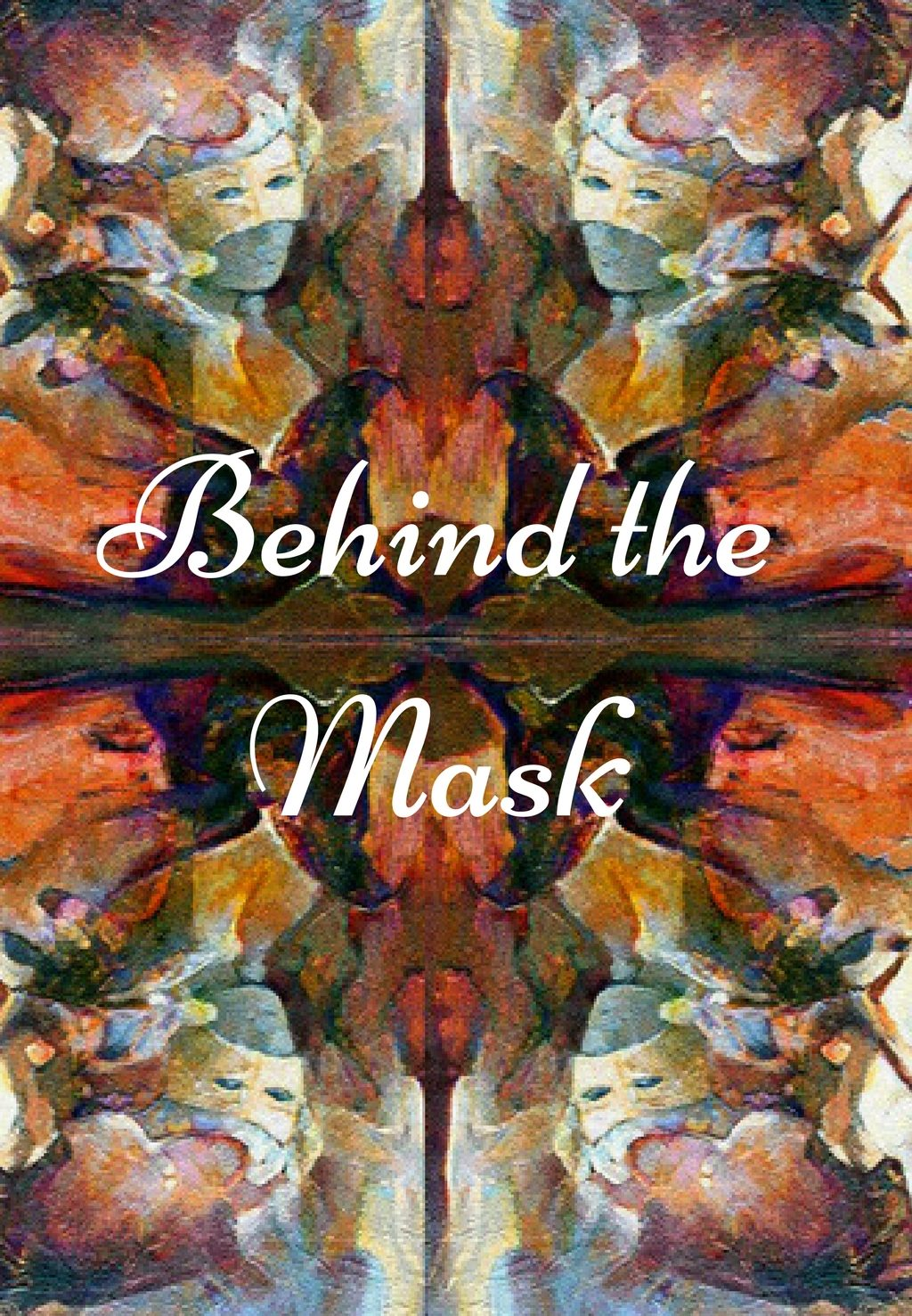 Art on Scarf - Lookbook - Behind the Mask
