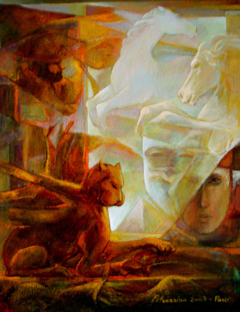 Lion by Ararat Petrossian