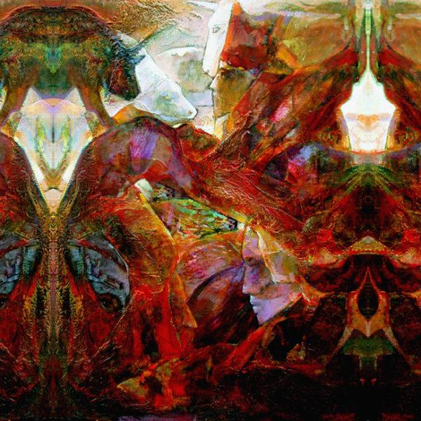 Art on Scarf - Scarf Mockup - Venetian carnival5-1 range (65x150cm)