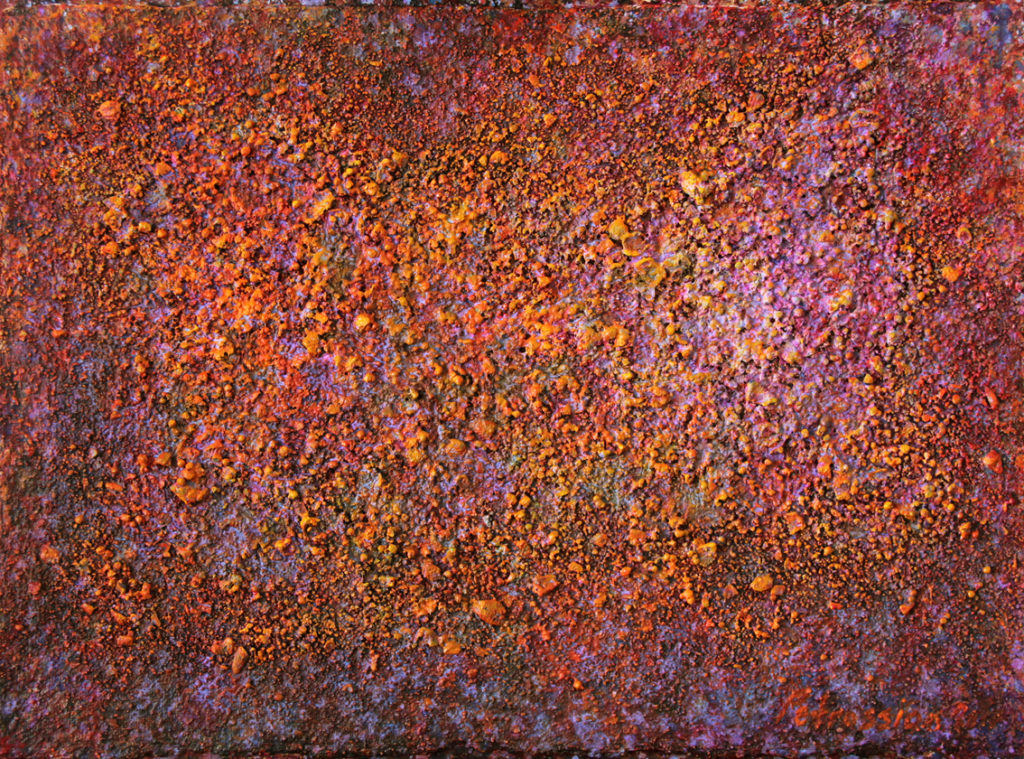 Art on Scarf - Vibrations of the Universe 16 (135cmx100cm)