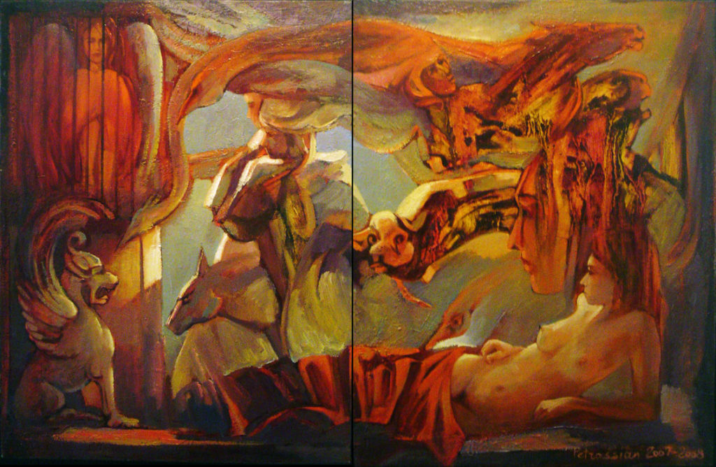 Dream - Diptic by Ararat Petrossian