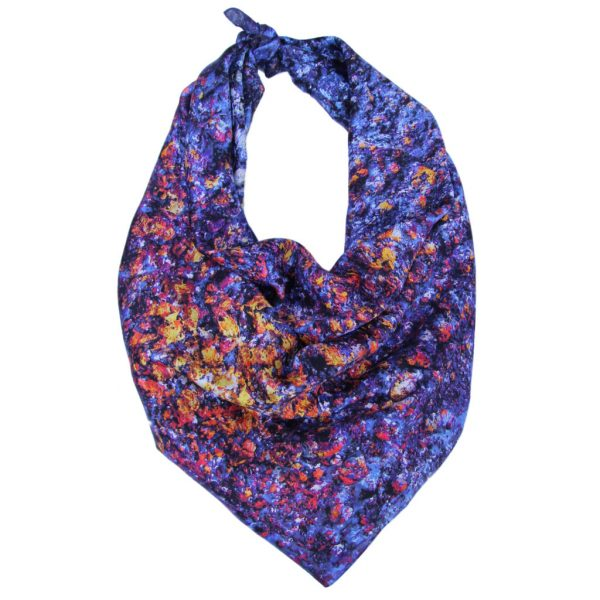 Aithne - Art on Scarf - Cosmic Spectrum