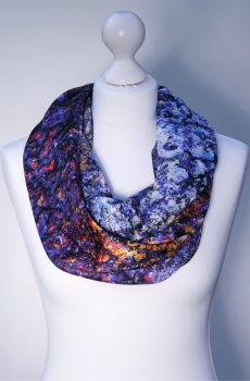 Aithne - Silk Scarf The Cosmic Spectrum