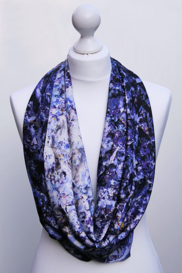 Aithne - Silk Scarf The Sound of Infinity