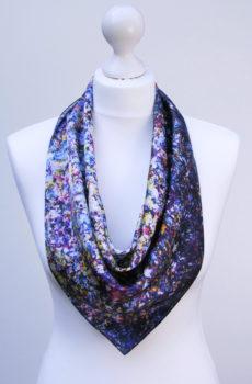 Aithne - Square Silk Scarf - Stardust1
