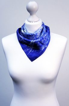 Aithne - Square Silk Scarf - The Chaotic Movement2