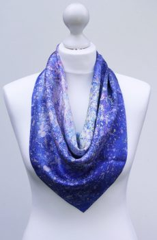 Aithne - Square Silk Scarf - The Dancing Stars1