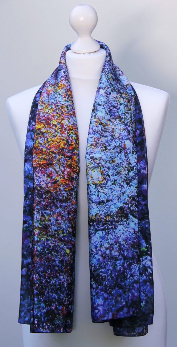 Aithne - Silk Scarf The Galaxy Union1