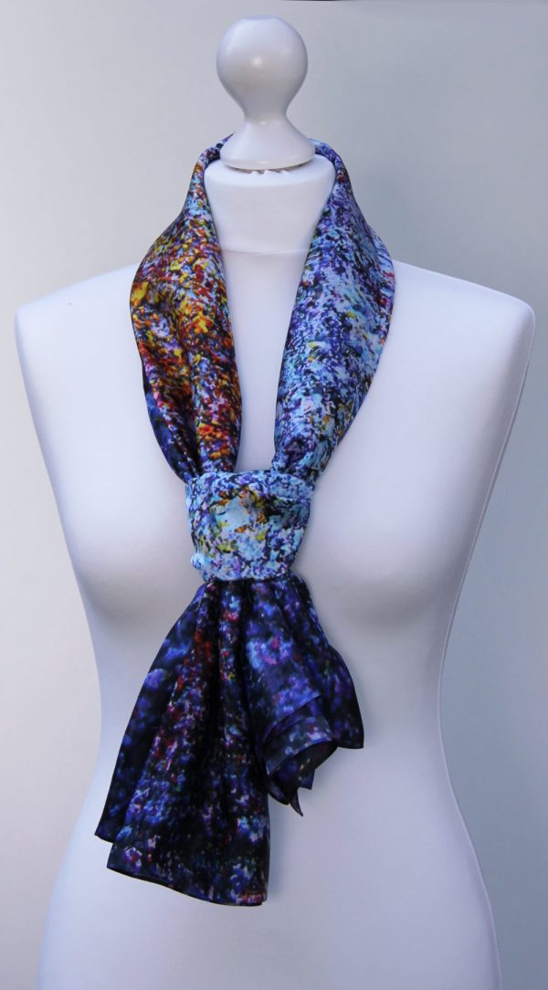 Aithne - Silk Scarf The Galaxy Union2