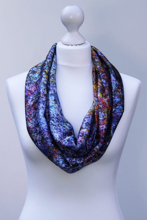 Aithne - Silk Scarf The Galaxy Union3