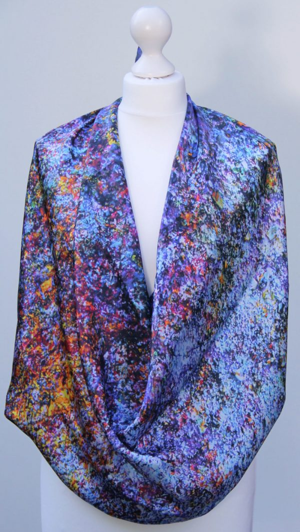 Aithne - Silk Scarf The Galaxy Union4