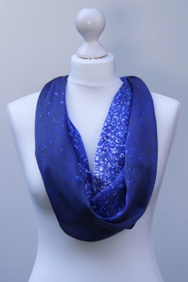 Aithne - Silk Scarf The Milky Way2