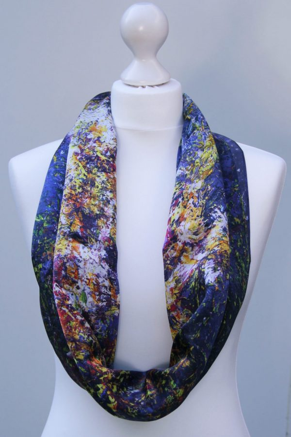 Aithne - Silk Scarf The Shining Lonely Star1
