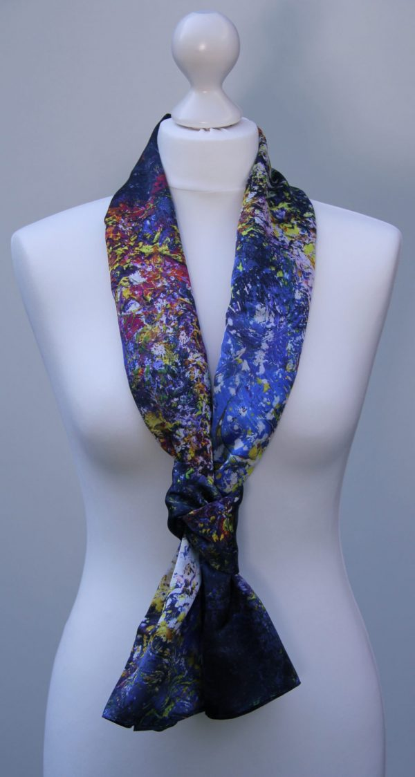 Aithne - Silk Scarf The Shining Lonely Star2