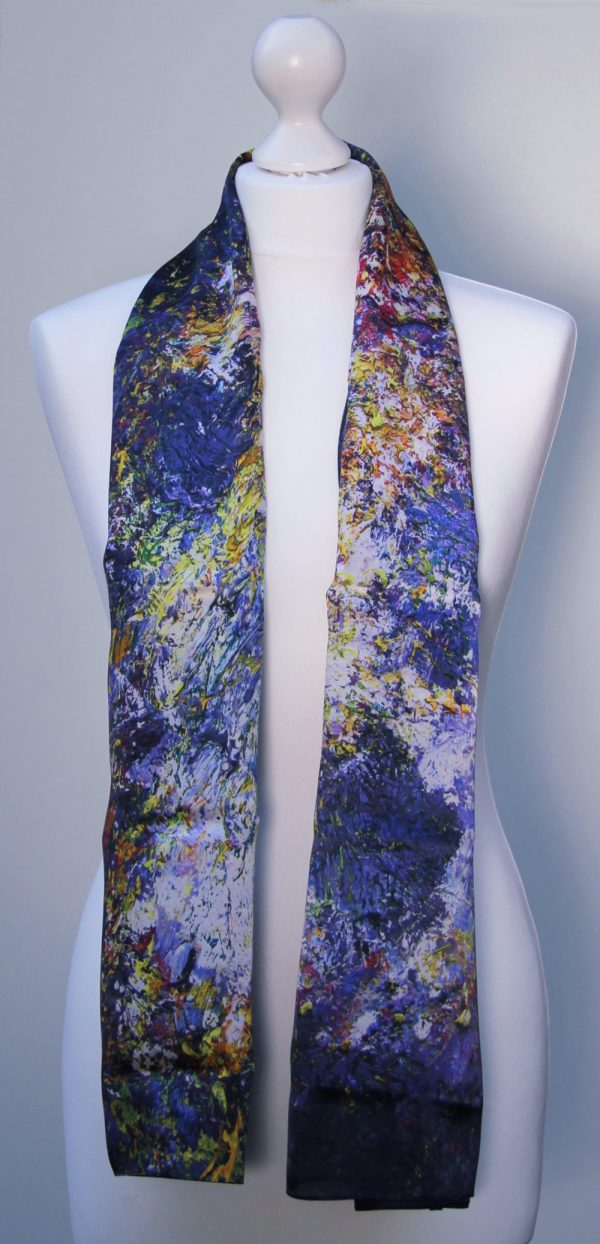 Aithne - Silk Scarf The Shining Lonely Star4