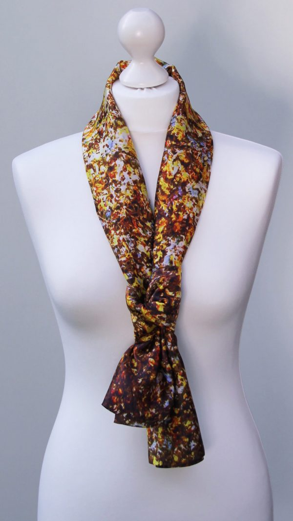 Aithne - Silk Scarf - The Sparkles of Infinity2