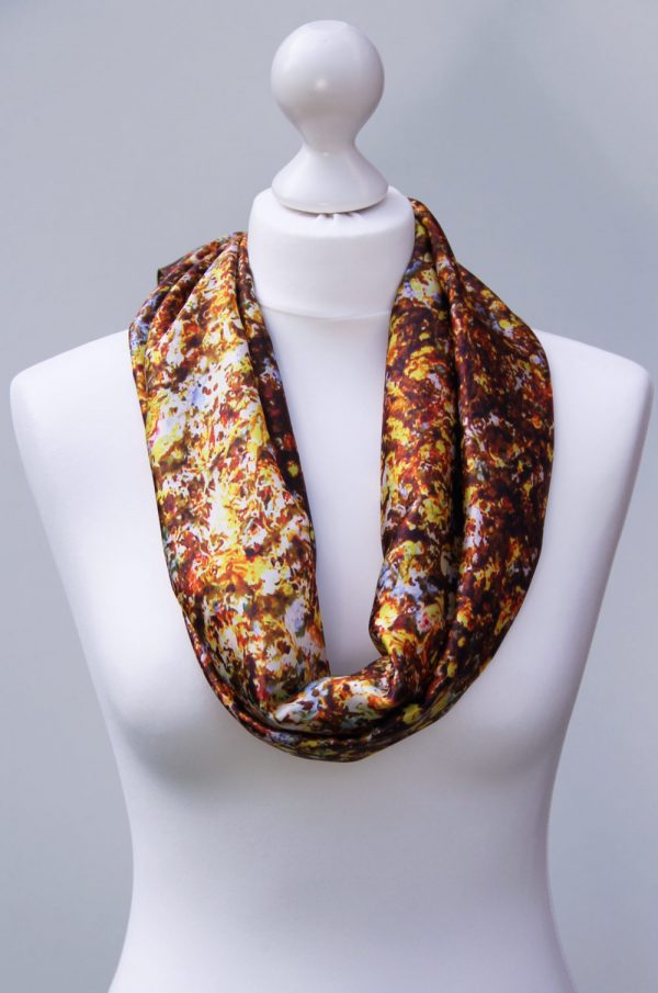 Aithne - Silk Scarf - The Sparkles of Infinity3