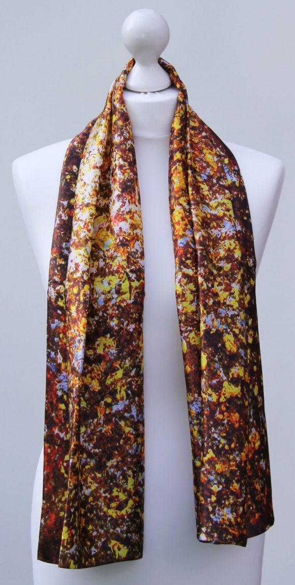 Aithne - Silk Scarf - The Sparkles of Infinity4