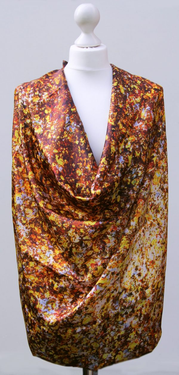 Aithne - Silk Scarf - The Sparkles of Infinity5