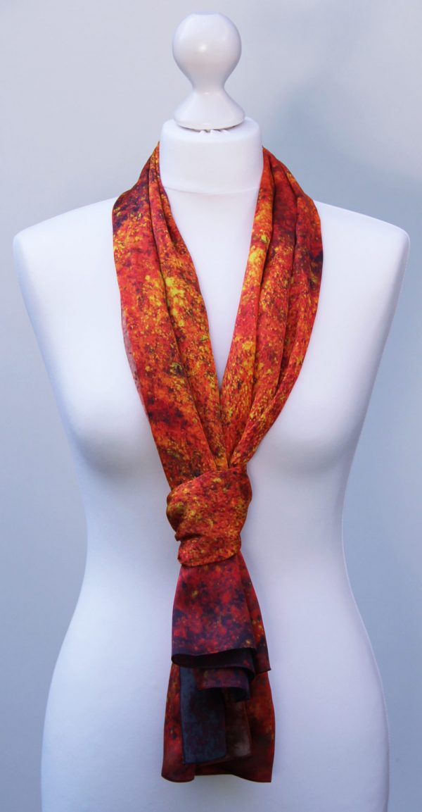 Aithne - Silk Scarf The Spiral to Infinity5