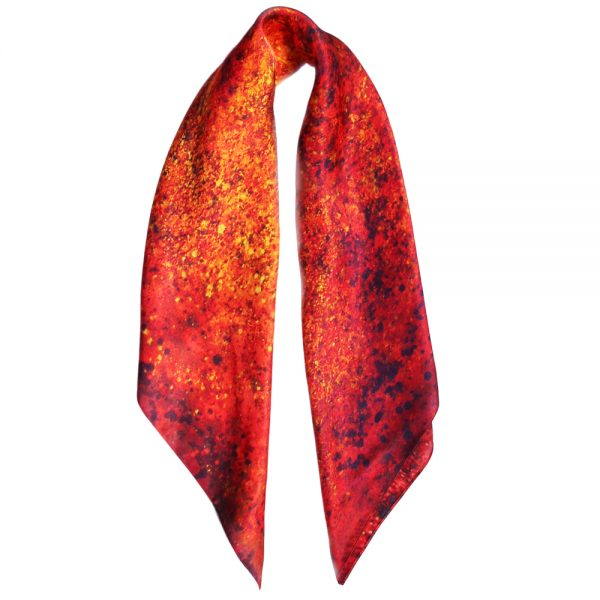 Aithne - Square Silk Scarf The Spiral to Infinity8
