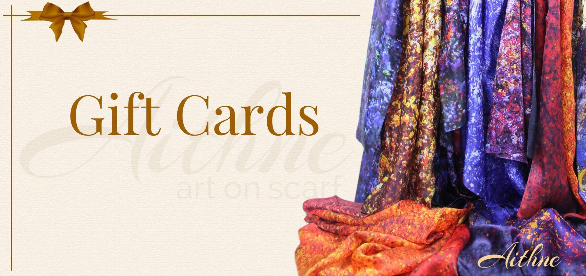 Aithne Silk Scarf Gift Cards