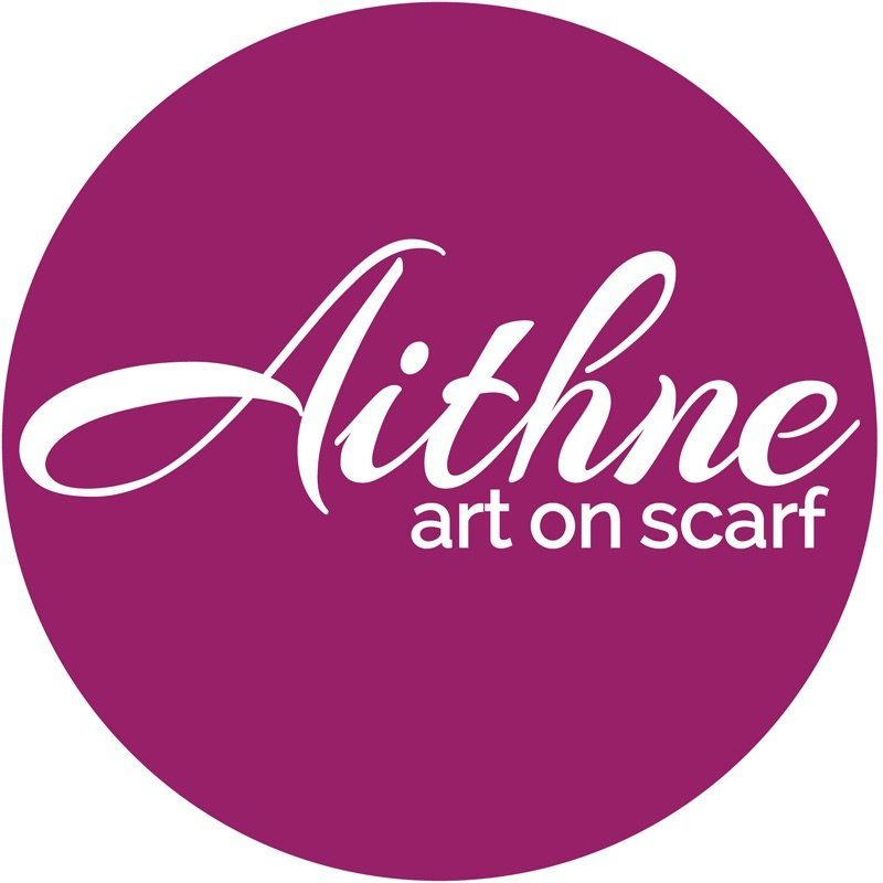 Aithne - Art On Silk Scarfs